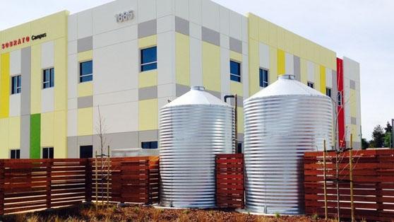 Industrial Water Storage Tanks